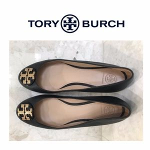 NWOT Tory Burch Ballet Flat Sz 10 Black